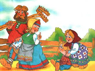 Русские народные сказки: сказки о животных
